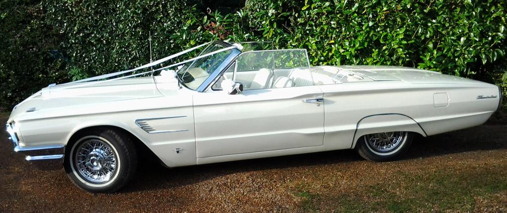 1965 Ford Thunderbird Wedding Car Hire & Wedding Cars from Macu0027s American Classic Wedding Car Hire markmcfarlin.com